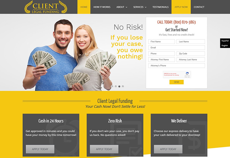 Client Legal Funding
